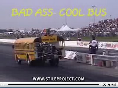 Bus dragster.